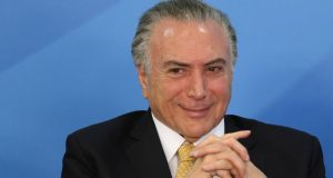Michel Temer no Palácio do Planalto. Foto: ADRIANO MACHADO REUTERS